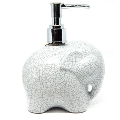 Dispensador de jabón con forma de elefante