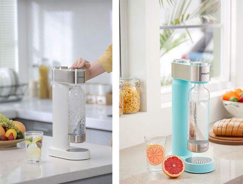 dispensador agua con gas