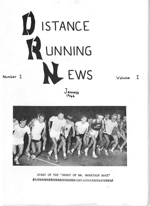 Distance Running Times First Cover