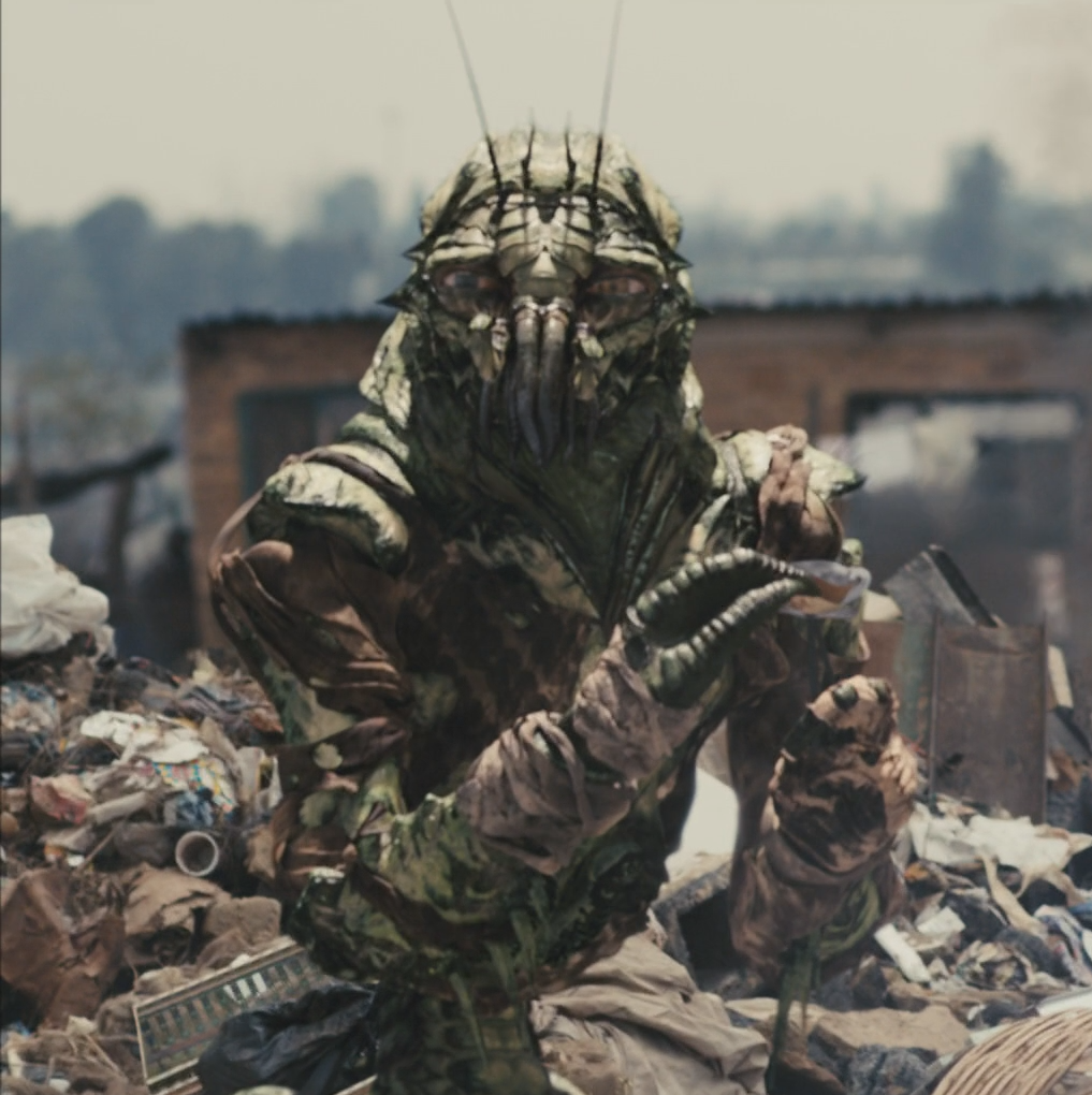 District 9 Neill Blompamp's action-packed apartheid parable is set in an alternate South Africa, in which an insect-like alien species touches down and is forced into internment camps and second-class status.