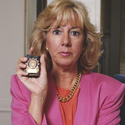 District Attorney Linda Fairstein pictured in 1990