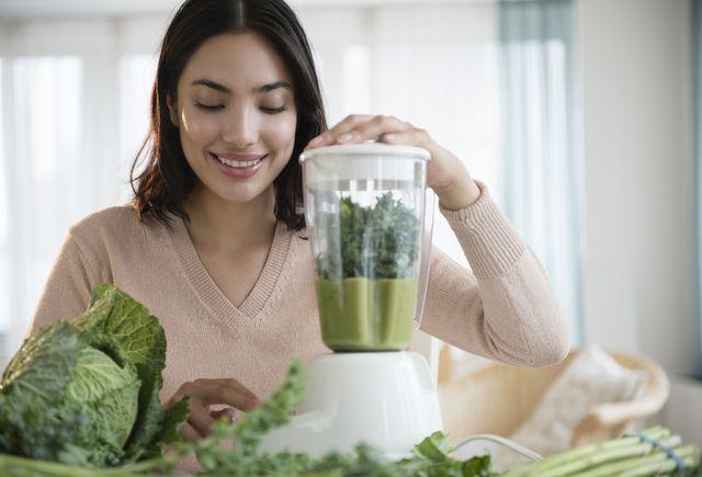 door het nitraat in groene bladgroenten versterken je spieren
