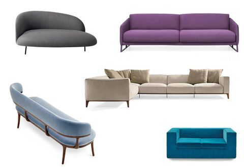 14 Modern design sofas to stylishly decorate your living