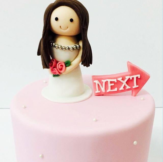 Cake, Cake decorating, Dessert, Baked goods, Chocolate cake, Pink, Food, Birthday cake, Torte, Baking,