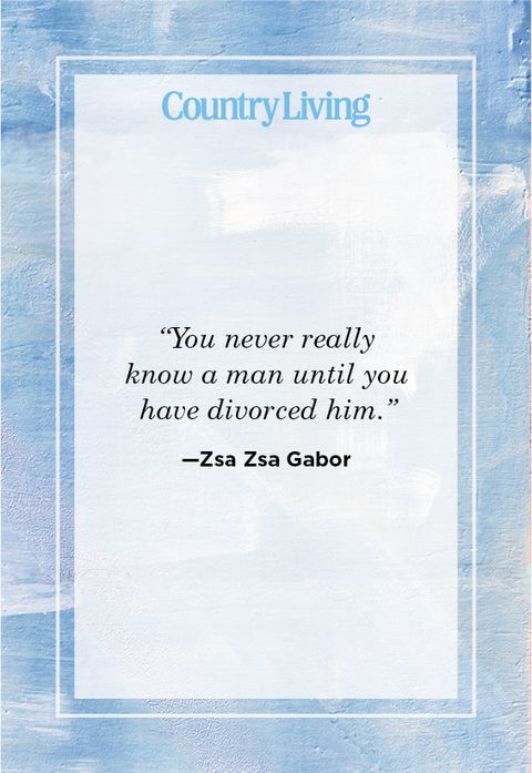 Quote on Divorce by Zsa Zsa Gabor