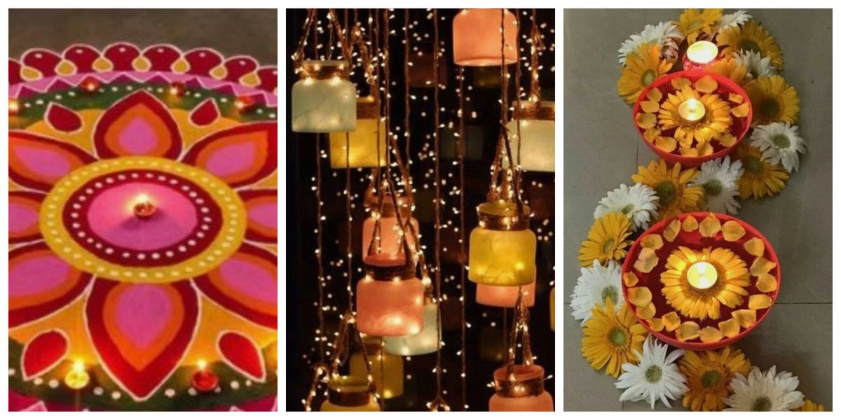 Diwali Decoration Ideas On