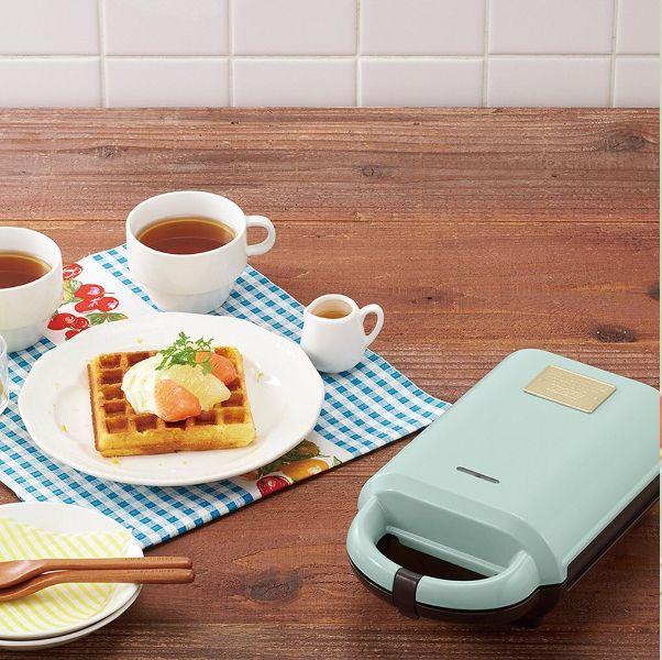 夏日必備廚房小家電推薦!清新夢幻「馬卡龍綠」冰淇淋機、鬆餅機、烤麵包機光擺在家就美