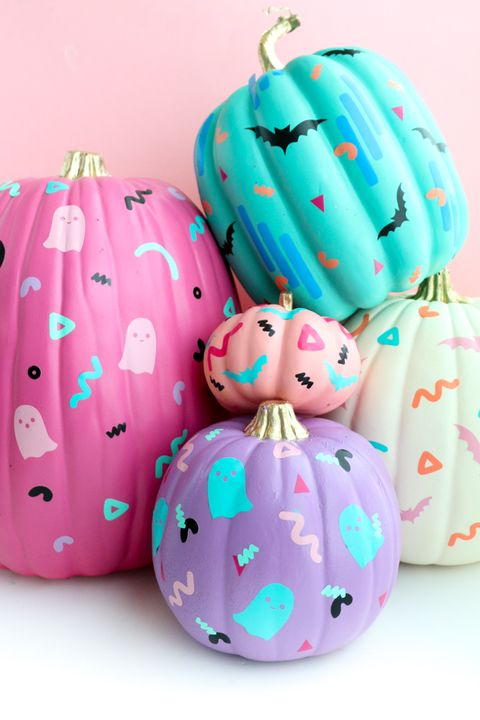 90's art pumpkins