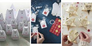 DIY advent calendar - DIY advent calendar kit