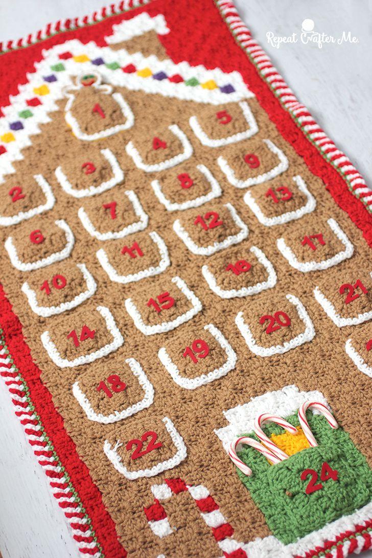 diy advent calendar crochet
