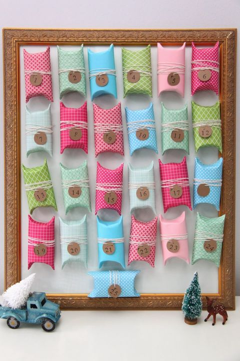 diy advent calendar toilet paper tube