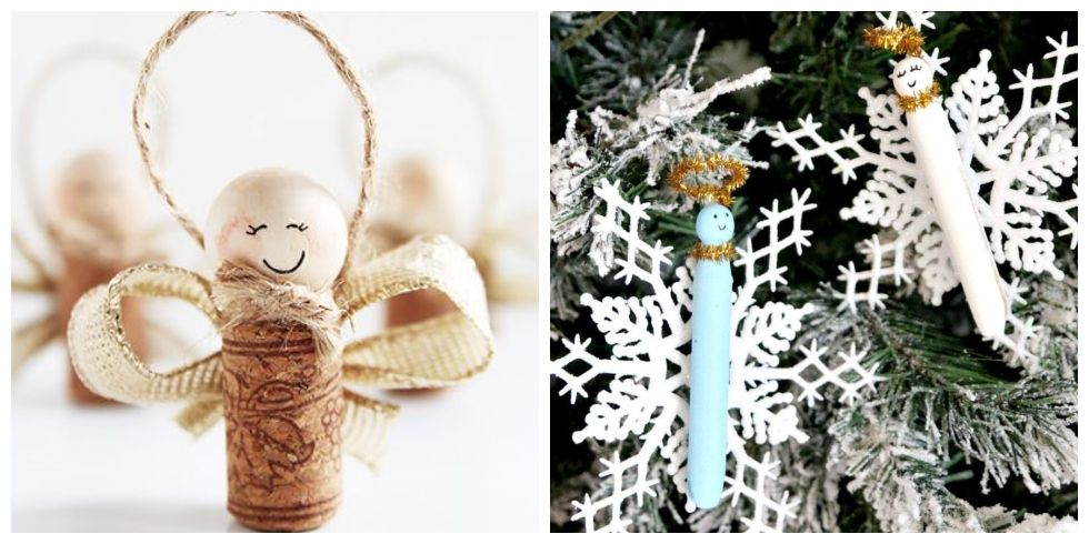 15 DIY Angel Ornaments for One Heavenly Christmas Tree