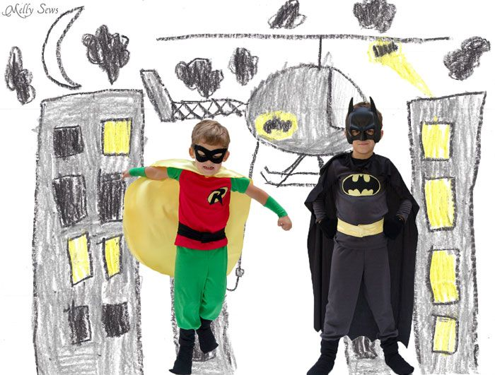 batman robin best friend costumes