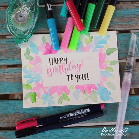 21 Diy Birthday Card Ideas Cute