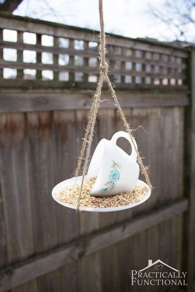 13 DIY Bird Feeders That Will Fill Your Garden with Songbirds