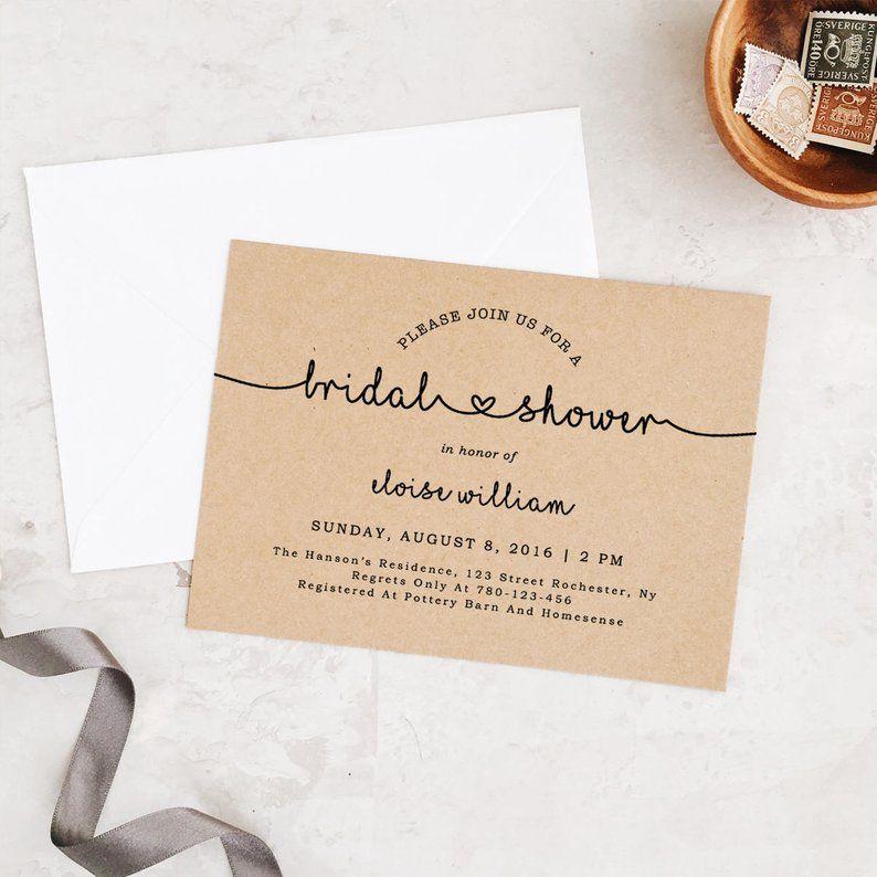 diy bridal shower invitations best bridal shower invitations