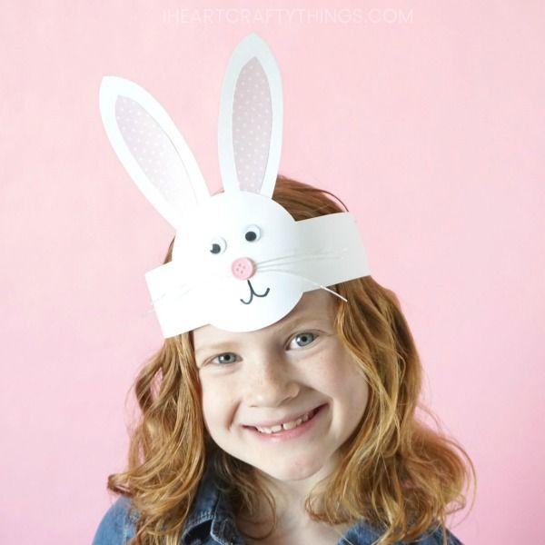 diy easter bunny headband easter craft kids