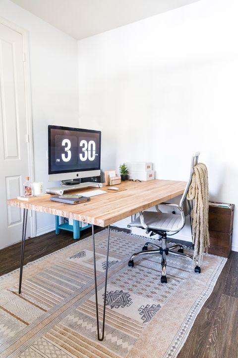 15 Diy Desk Plans For Your Home Office, Double Desk Home Office Diy