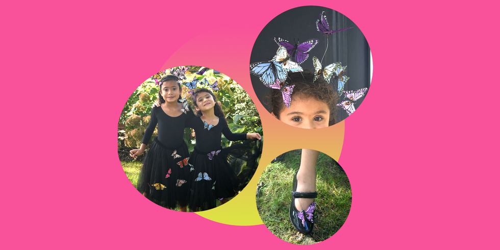 How to DIY a Butterfly Costume for Kids Without Ever Picking up a Needle and Thread