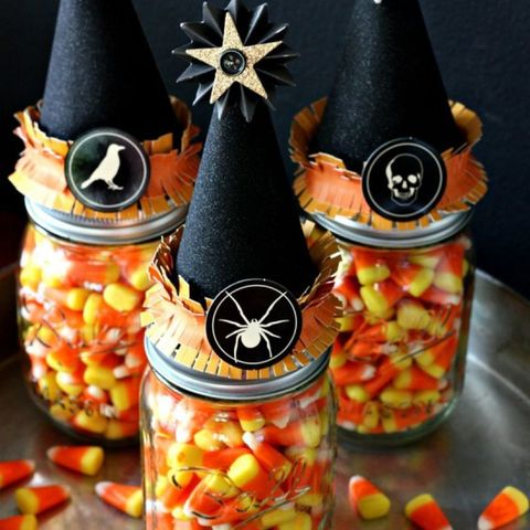 23 Candy Corn Crafts Decorations For Halloween