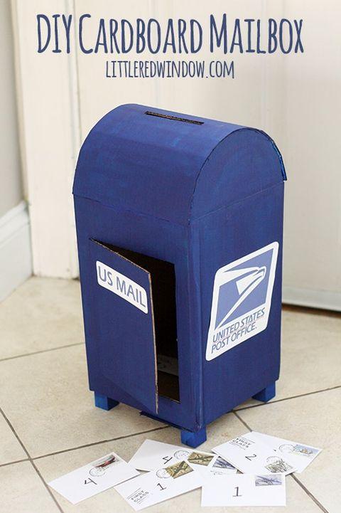 diy valentine's day boxes mailbox