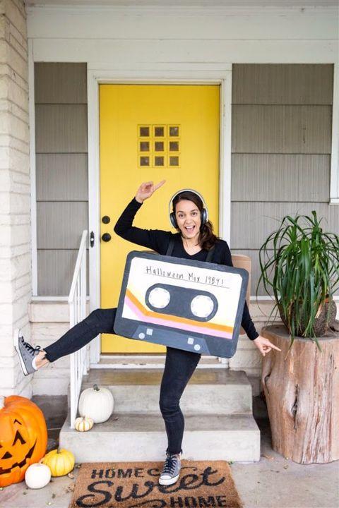 cassette tape costume women halloween