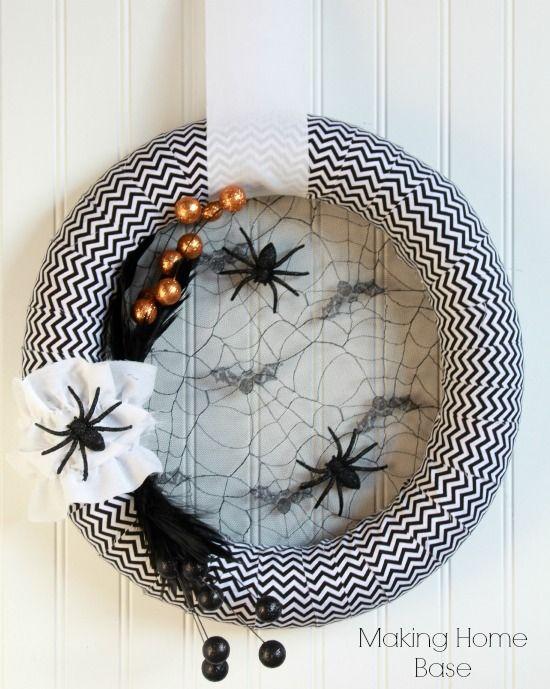 42 DIY Halloween Wreaths - How to Make Halloween Door Decorations Ideas