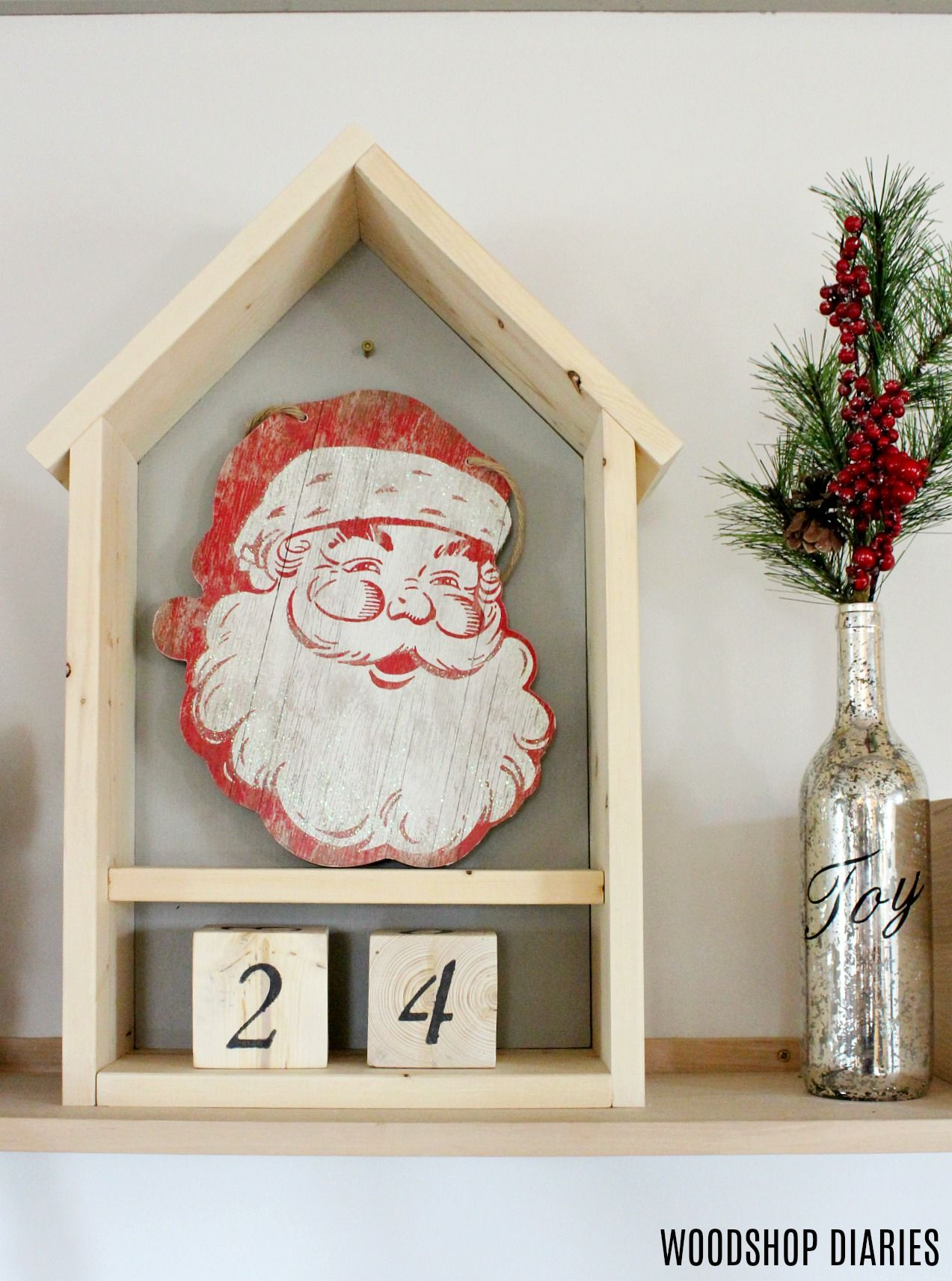 Wood Christmas Decorations.78 Diy Christmas Decorations Homemade Christmas Decor Ideas