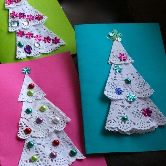 Printed Christmas Cards 2021 With 3 Photos 42 Diy Christmas Cards Homemade Christmas Card Ideas 2020