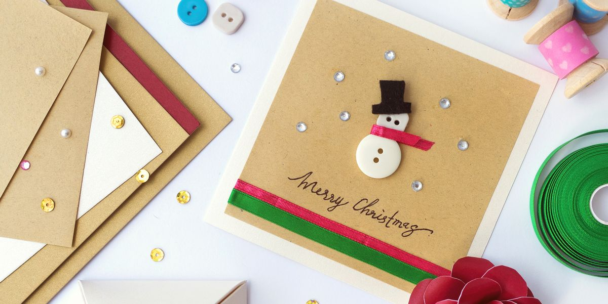 20 DIY Christmas Card Ideas - Easy Homemade Christmas Cards We're Loving for 2018