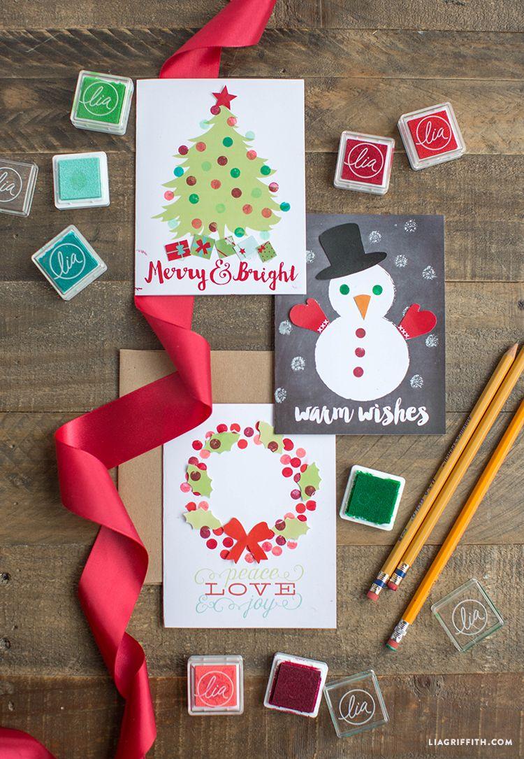 39 DIY Christmas Cards , Homemade Christmas Card Ideas 2019