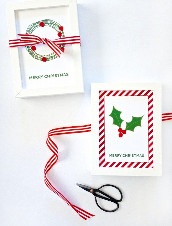 2 Sheets Self Adhesive Merry Christmas Paper Ribbon Borders Postage discounts