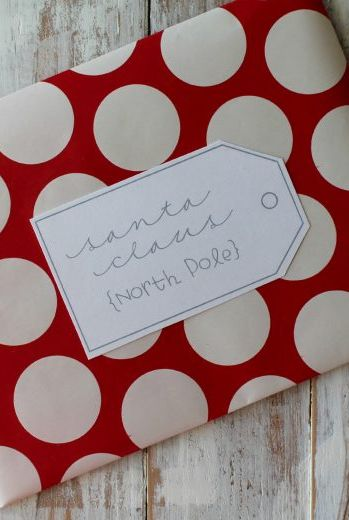 DIY Christmas Cards Ideas - Wrapping Paper Envelopes