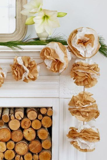 diy garland decor