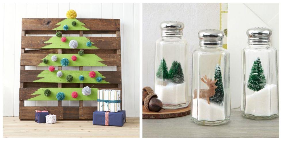 40+ DIY Homemade Christmas Decorations - Christmas Decor You Can Make
