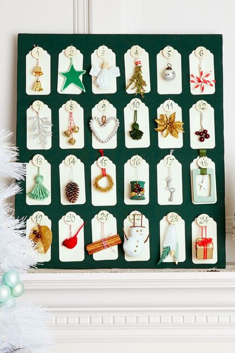 diy christmas decorations christmas ornament advent calendar