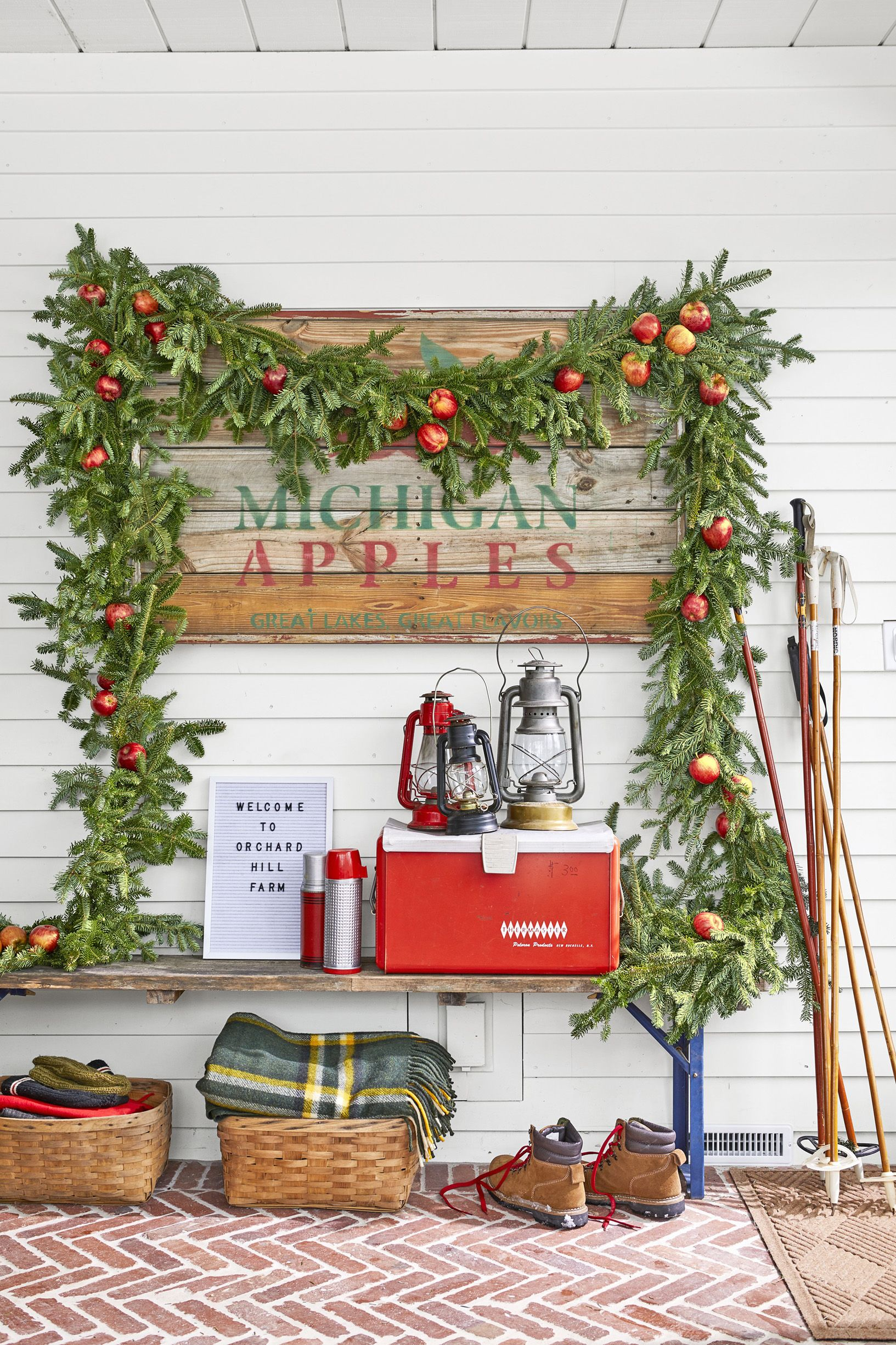 diy christmas decorations garland