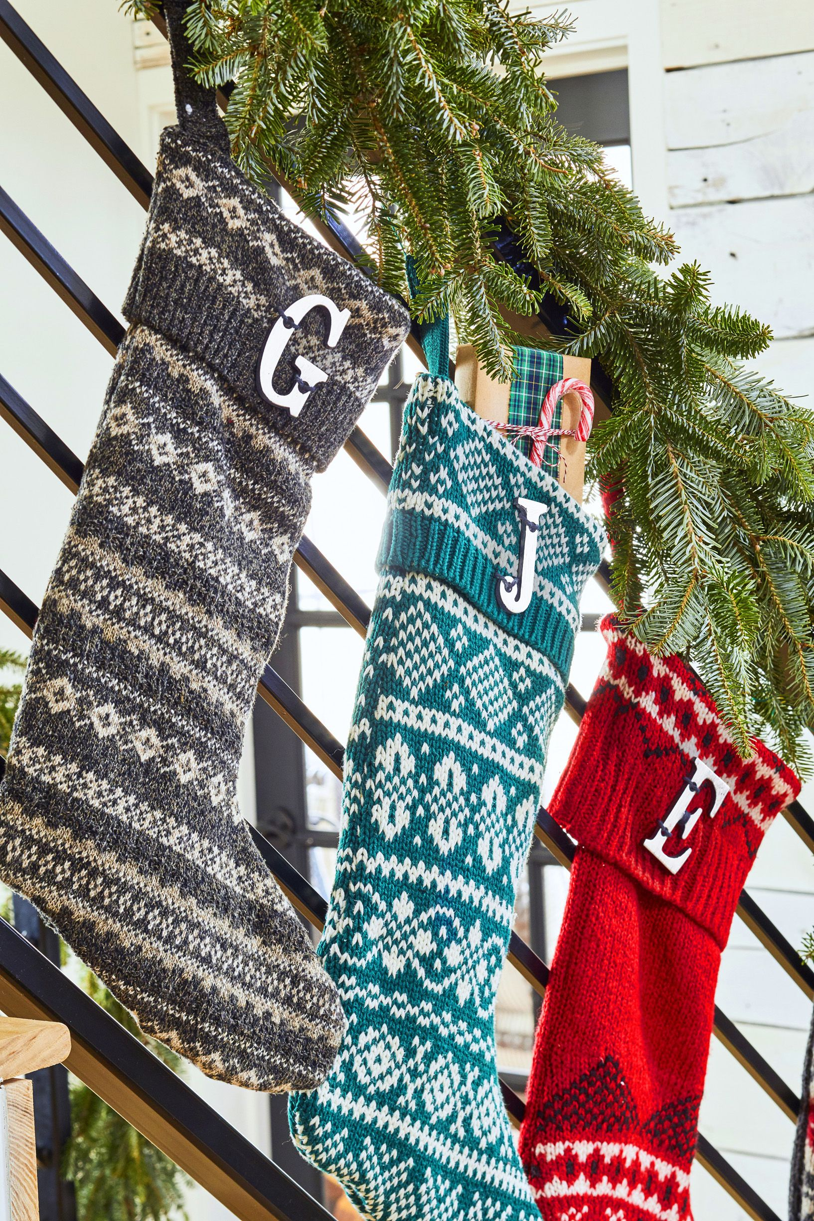 Christmas Decorations English Socks Halloween Ornaments Colorful