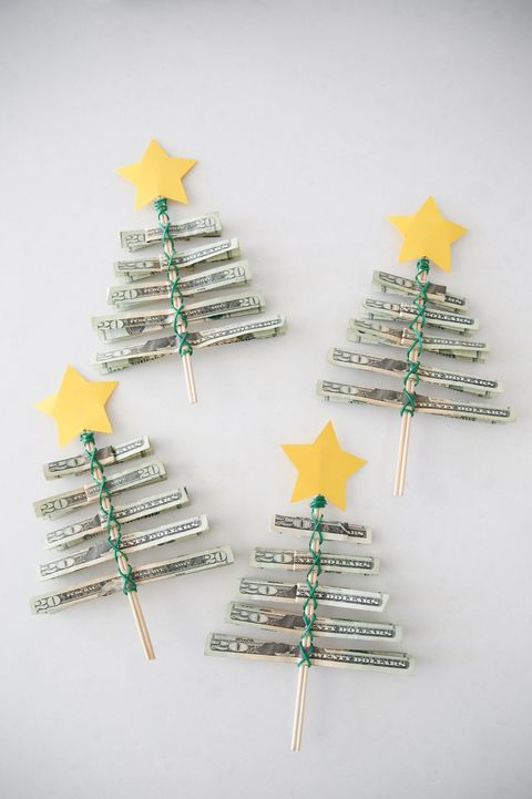 DIY Christmas Gifts - Money Tree