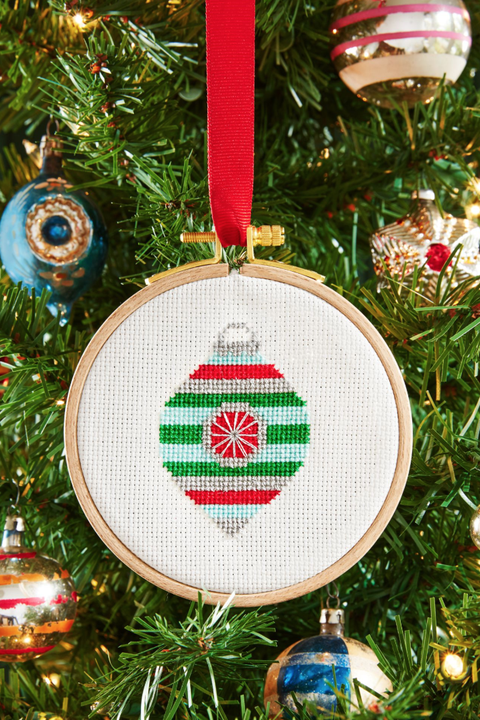 diy christmas gifts cross stitch ornament