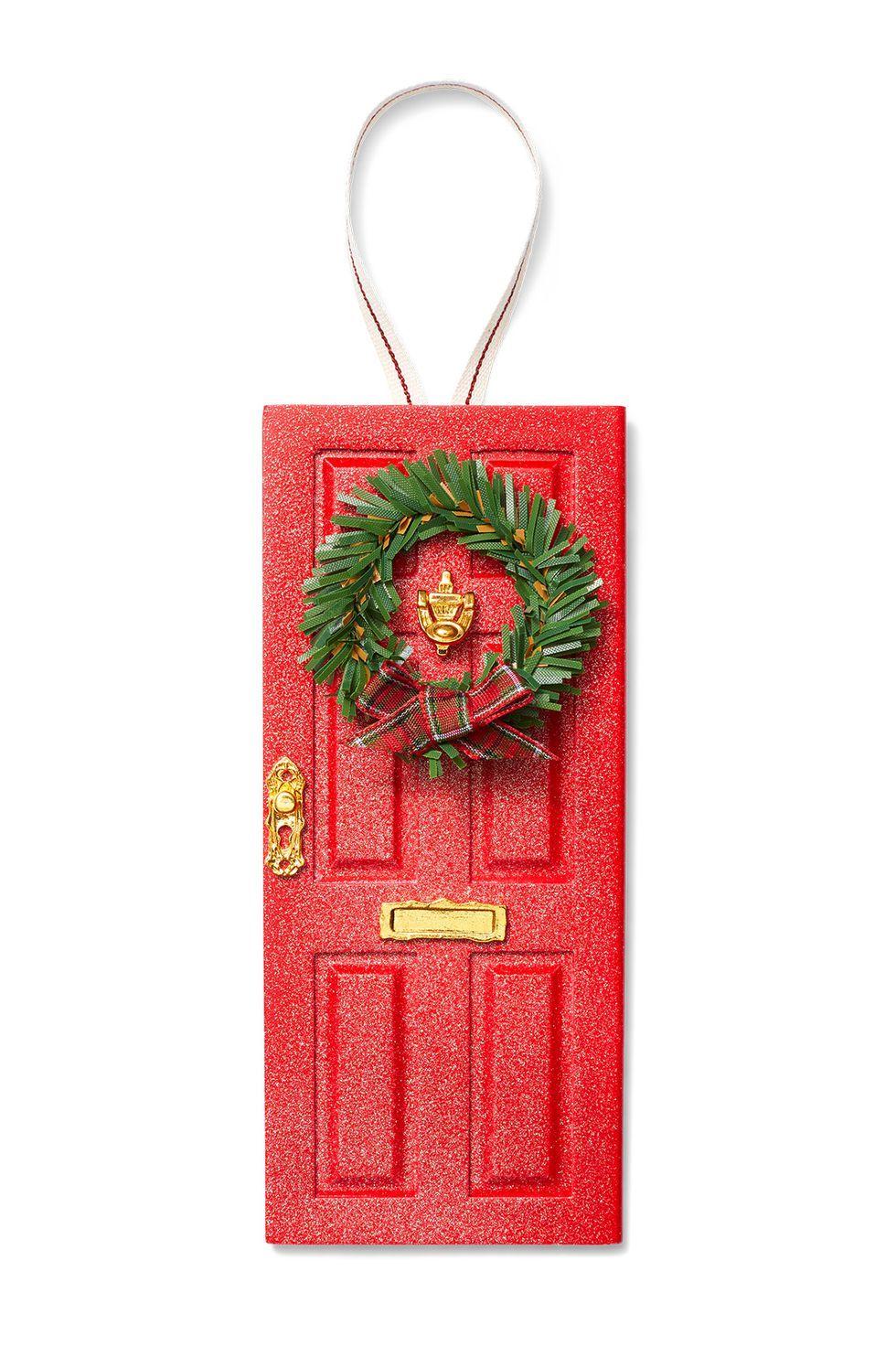 Christmas Crafts Elf Door Ornament