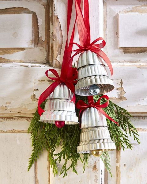 christmas ornaments made from molds