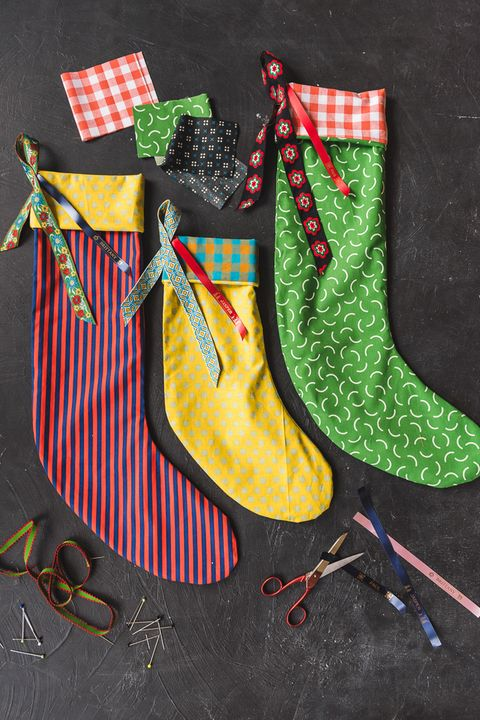 diy christmas stockings decorations
