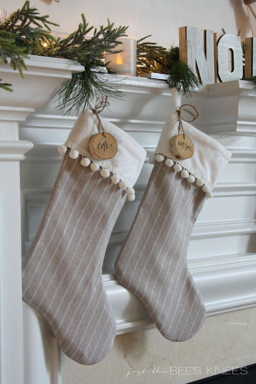 30 Diy Christmas Stockings How To Make Christmas Stockings