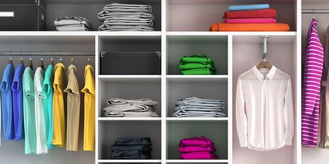 Diy Closet Organizer Getty Images