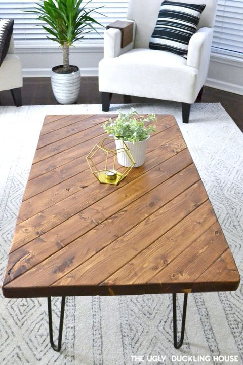 Homemade Wooden Coffee Tables Easy Craft Ideas