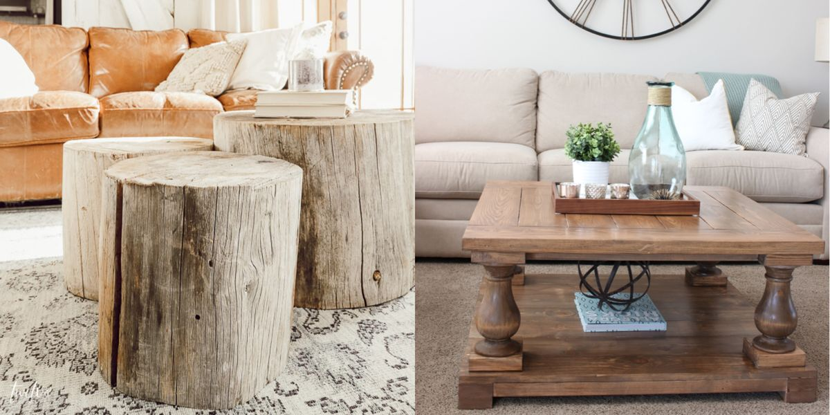 15 DIY Coffee Tables - How to Make a Coffee Table