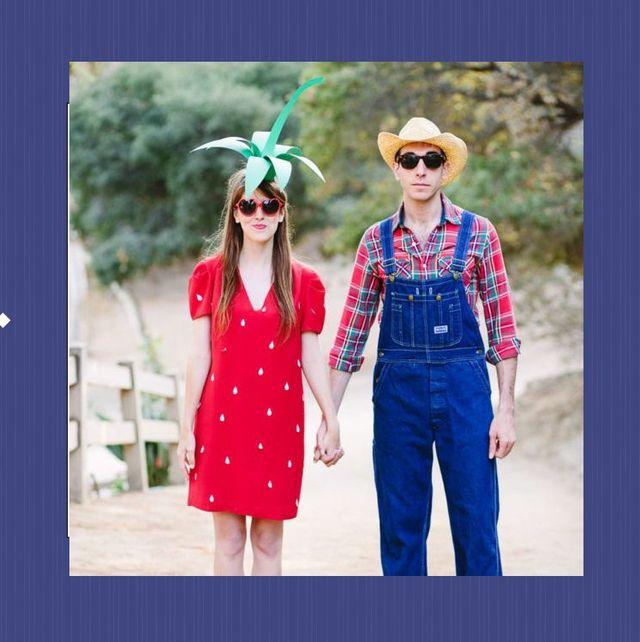 Easy Diy Halloween Costumes For Women.Sweet Potato Couple S Costume