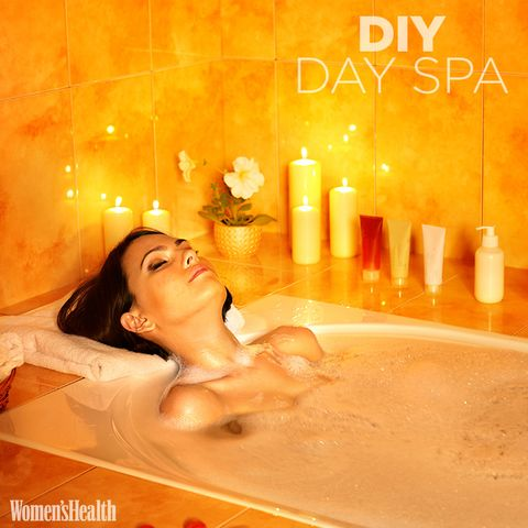 diy day spa