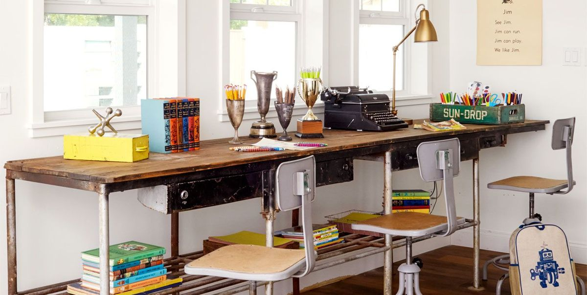 15 Diy Desk Plans For Your Home Office How To Make An Easy